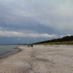 Angler am Strand von Wittow