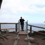 Aussichtsplattform mit Helmut
