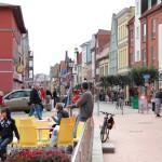 Barth, Markt Einkaufsmeile