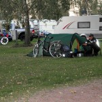 am Morgen im Camp Dierhagen