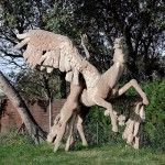 Ahrendshoop, Pegasos (Pegasos war das Kind des Meeresgottes Poseidon und der Gorgone Medusa)