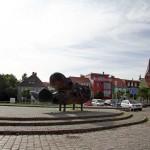 Vinetastadt Barth mit Blick auf die St-Marien-Kirche