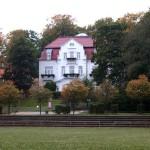 Heringsdorf, Villen an der Promenade