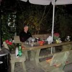 Helmut im Camp Schwaan