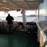 Helmut und die Fahrraeder  auf dem Weg nach Hiddensee