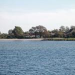 Camp Schaprode vom Wasser betrachtet