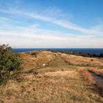 Hiddensee, Blick vom Leuchturm nach Norden