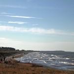 Hiddensee, Strand so weit das Auge reicht