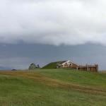 Mödrudalur Campingplatz mit Saunahütte