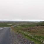 die Fahrt ging durch seichte Landschaften bis ich zum Ort Fellabær gelangte