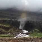 Wasserfall auf dem Weg nach Melshorn