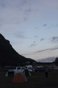 Svinafell bei Nacht