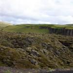 das Lavafeld Eldhraun ist im Jahr 1783, nach einem Ausbruch der Laki-Krater entstanden