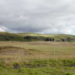 Rücklick in die Landschaft bei Kirkjubæjarklaustur