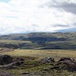 Landschaft entlang der F 208