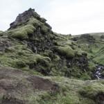 Wanderung durch das wasserreiche Lavafeld
