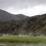 Landmannalaugar, warme Quellen der Leute vom Land