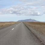 die ersten Kilometer der F 35 waren noch asphaltiert