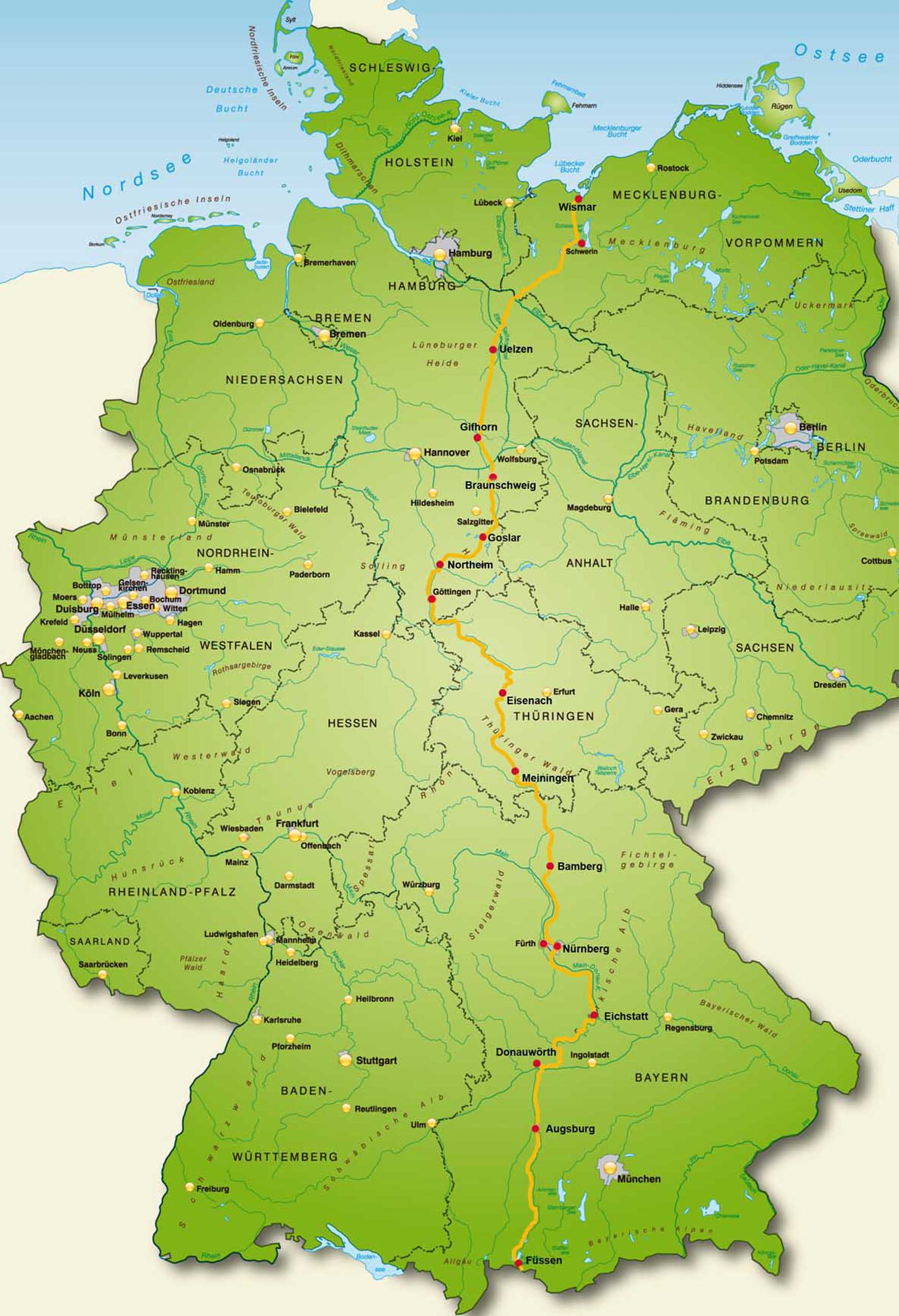 Deutschland Übersicht