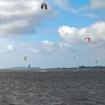 Kitesurfen am Wieker Bodden