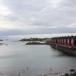 Reihenhäuser in Svolvær