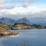 eine Bucht auf den Lofoten