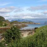 Bucht auf den Lofoten