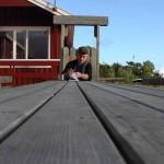 Lyngvær, schreiben meines Tagebuches