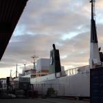Ankunft auf dem Festland, Bodø
