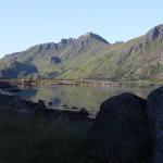 mein erstes Tagesziel, Brustranda Sjøcamping