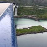 Bogenbrücke über den Raftsund