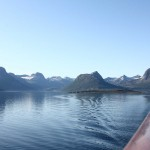 Fjorde im Morgendunst