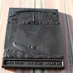 """Tafel am Denkmal """"Uredd"""""""