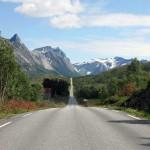 die Rv 17, eine Traumstraße mit wenig Fahrzeugverkehr