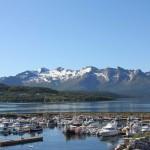 Yachthafen von Ørnes