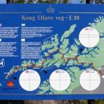 "Tafel am ""König-Olav-Weg"""