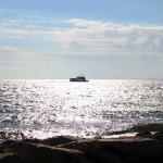 erster Blick auf die Ostsee