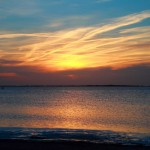 Schaprode, Sonnenuntergang