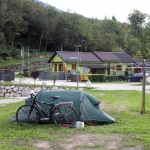 Camp am Lago del Corlo
