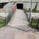 mit Treppen