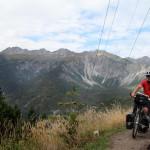 """auf der Passhöhe, Blick von der """"Schönen Aussicht"""" auf den Loreakopf"""