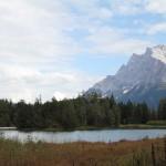 Weißensee, Blick zur Zugspitze