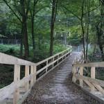Umleitung wegen Brückenbau