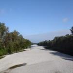 Flussbett ohne Lech