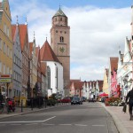 Donauwörth, Reichsstraße