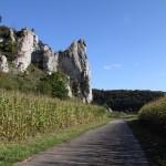 Dollnstein, Burgfels