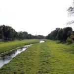 am Leine-Radweg vor Göttingen