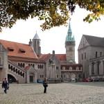 Burgplatz mit Braunschweiger Löwen
