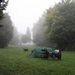Camp Eichstätt, 2°C am Morgen