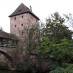 Nürnberg, Blick auf die Stadtmauer